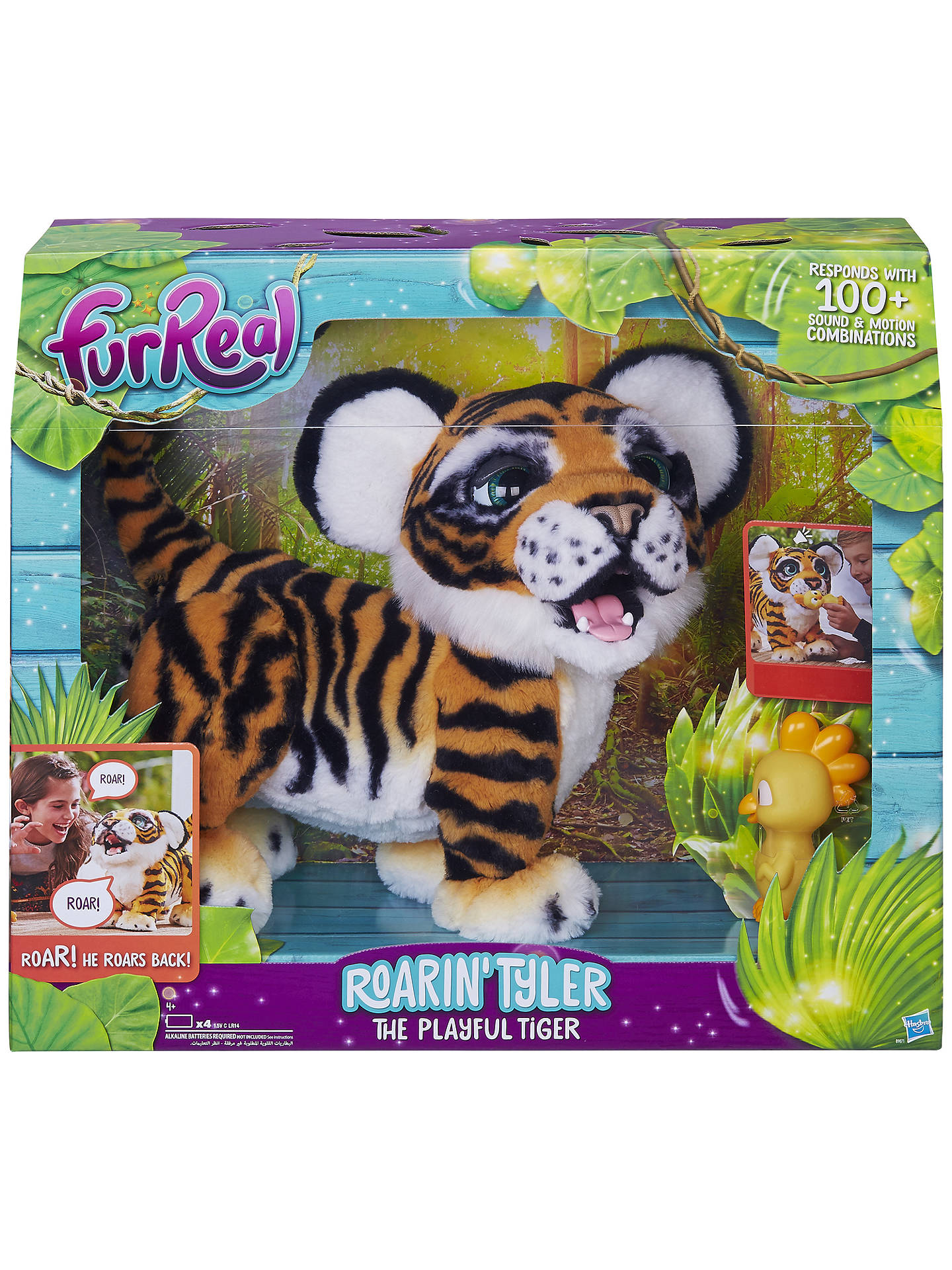 BuyFurReal Roarin' Tyler The Playful Tiger Online at johnlewis.com