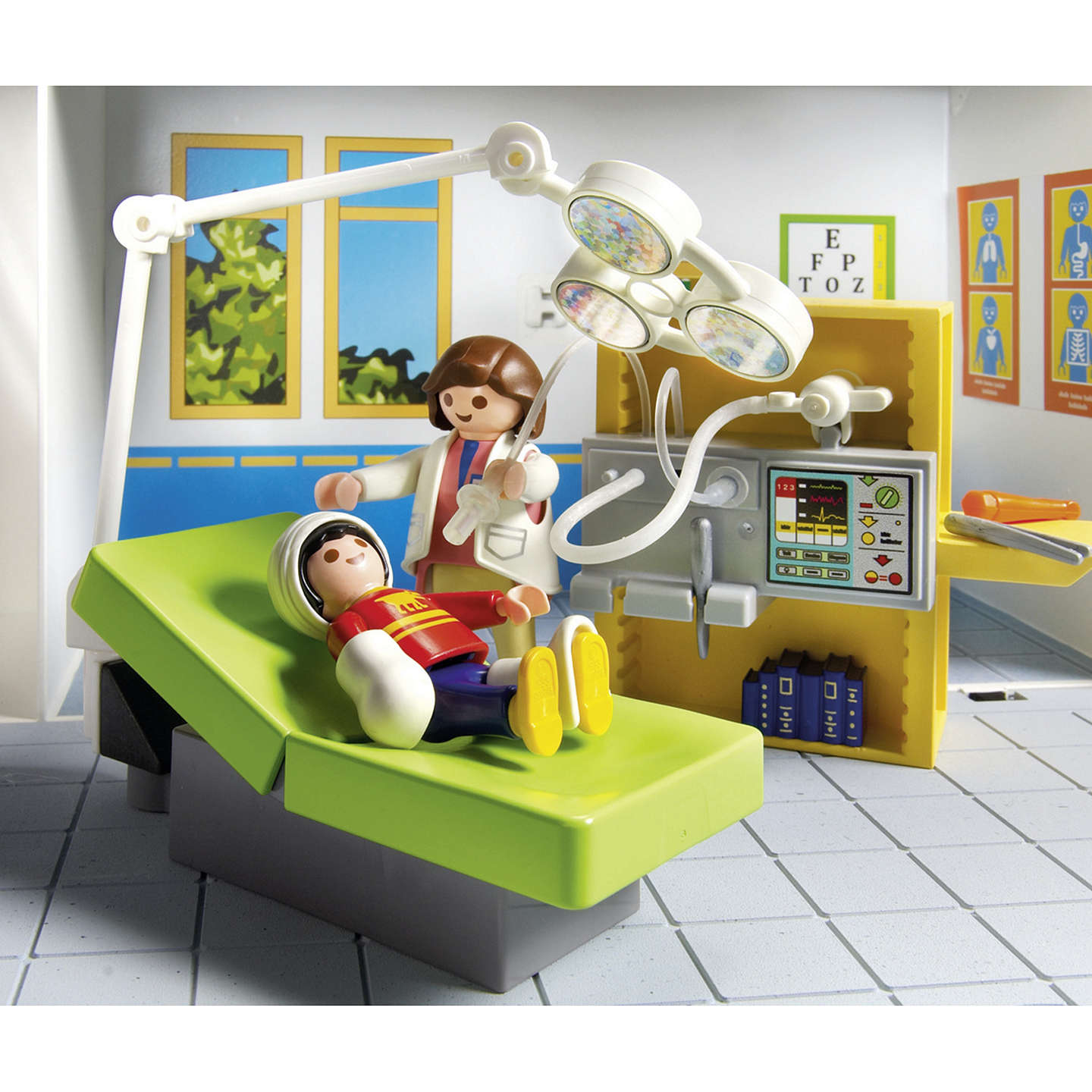 BuyPlaymobil City Action Take Along Hospital Playset Online at johnlewis.com
