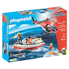 Buy Playmobil City Action Coast Guard Online at johnlewis.com