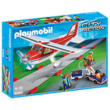 Buy Playmobil City Action Plane Playset Online at johnlewis.com