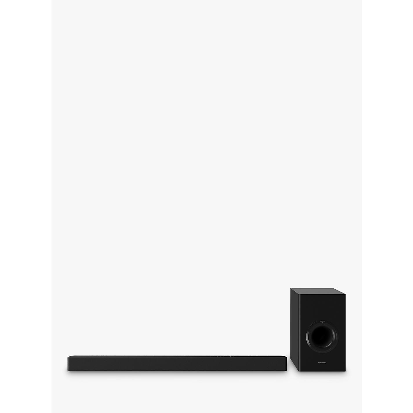 Panasonic Sc Htb488 Bluetooth Sound Bar With Wireless Subwoofer Online At Johnlewis