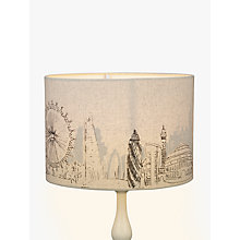 Buy John Lewis London Cityscape Lampshade, 30cm Online at johnlewis.com