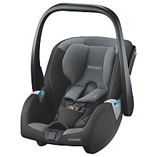 Buy Recaro Guardia Group 0+ Baby Car Seat, Carbon Black Online at johnlewis.com