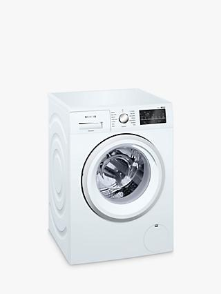 Siemens WM14T470GB Washing Machine, 9kg Load, A+++ Energy Rating, 1400rpm Spin, White