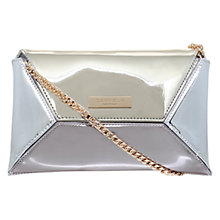Buy Carvela Gleam Matchbag Clutch Bag, Gold Online at johnlewis.com