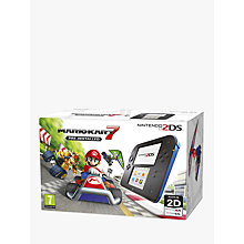 Buy Nintendo 2DS Console with Mario Kart 7 Pre-Installed Online at johnlewis.com