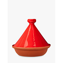 Buy LEON Terracotta Tagine, Red, Dia.27.5cm Online at johnlewis.com