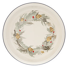 Buy John Lewis Circular Highland Pie Dish Online at johnlewis.com