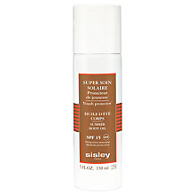 Buy Sisley Super Soin Solaire Silky Body Oil Sun Care SPF 15, 150ml Online at johnlewis.com
