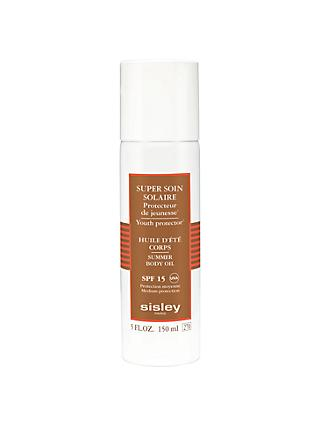 Sisley Super Soin Solaire Silky Body Oil Sun Care SPF 15, 150ml