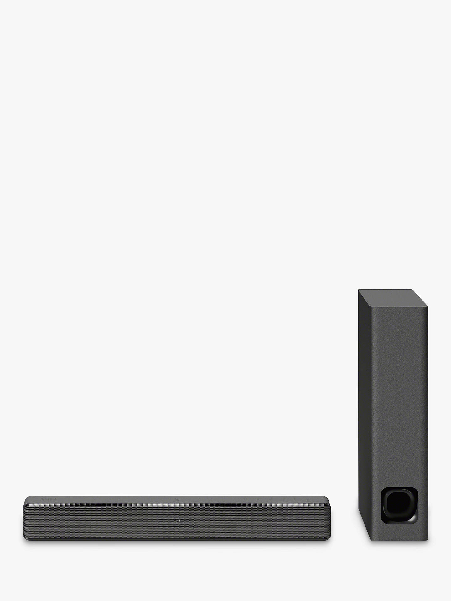 Buy Sony HT-MT500 Wi-Fi Bluetooth NFC Compact Sound Bar with Ultra-Slim Wireless Subwoofer, Hi-Res Audio, Chromecast & Multiroom Online at johnlewis.com