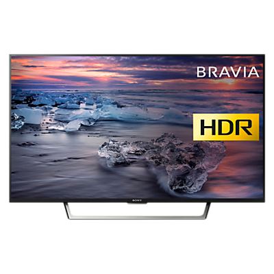 Sony Bravia KDL43WE753 LED HDR Full HD 1080p Smart TV, 43 with Freeview HD & Cable Management, Black