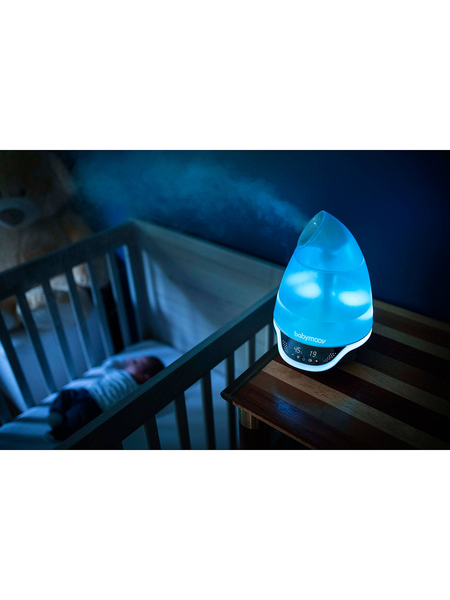 BuyBabymoov Hygro+ Humidifier, White Online at johnlewis.com