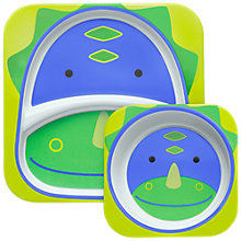 Buy Skip Hop Melamine Dinner Set, Dinosaur Online at johnlewis.com