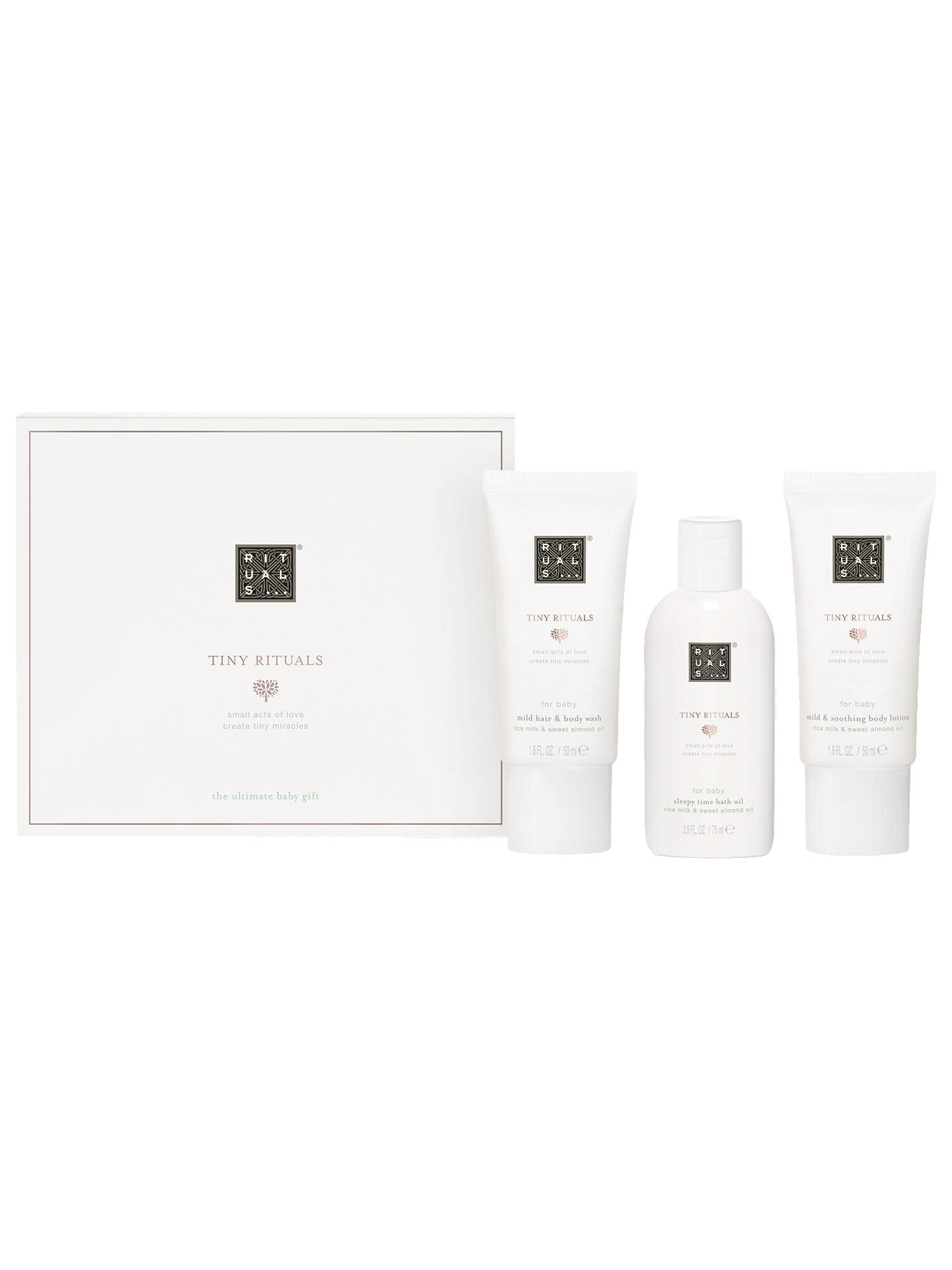 ff3083638cc69 Buy Tiny Rituals Baby Gift Set Online at johnlewis.com ...