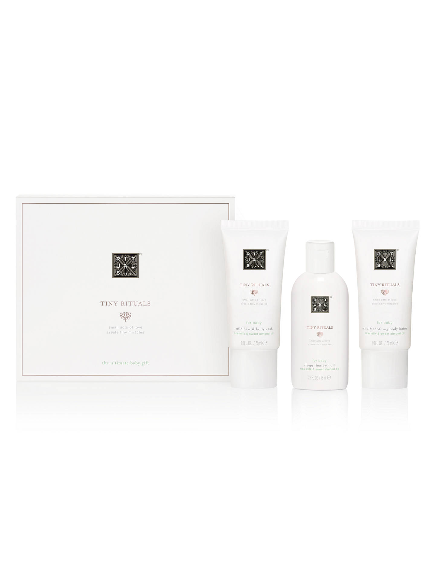94cc9e3a4d2c1 ... Buy Tiny Rituals Baby Gift Set Online at johnlewis.com