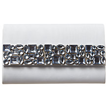 Buy Phase Eight Jewel Clutch Bag, Mineral Online at johnlewis.com