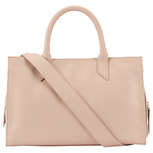 Buy Jigsaw Margot Leather Work Bag Online at johnlewis.com