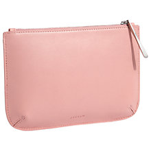 Buy Jigsaw Alba Medium Leather Pouch Clutch Online at johnlewis.com