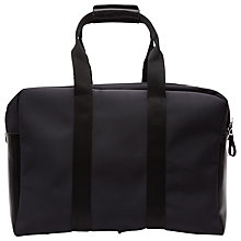 Buy Reiss Oxfordshire Canvas Holdall, Midnight Online at johnlewis.com
