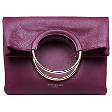 Buy Kurt Geiger Bague Pebbled Leather Across Body Bag Online at johnlewis.com