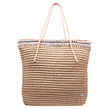 Buy Kurt Geiger Diamante Raffia Tote Bag Online at johnlewis.com
