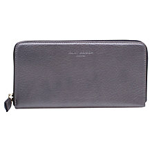 Buy Kurt Geiger New Saffiano Leather Zip Around Purse Online at johnlewis.com