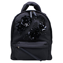 Buy Kurt Geiger Nylon Backpack, Black Online at johnlewis.com