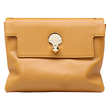 Buy Kurt Geiger Cle Leather Keyhole Shoulder Bag Online at johnlewis.com