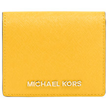 Buy MICHAEL Michael Kors Jet Set Travel Leather Flap Card Holder Online at johnlewis.com