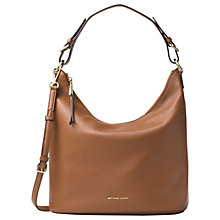 Buy MICHAEL Michael Kors Lupita Leather Large Hobo Bag Online at johnlewis.com