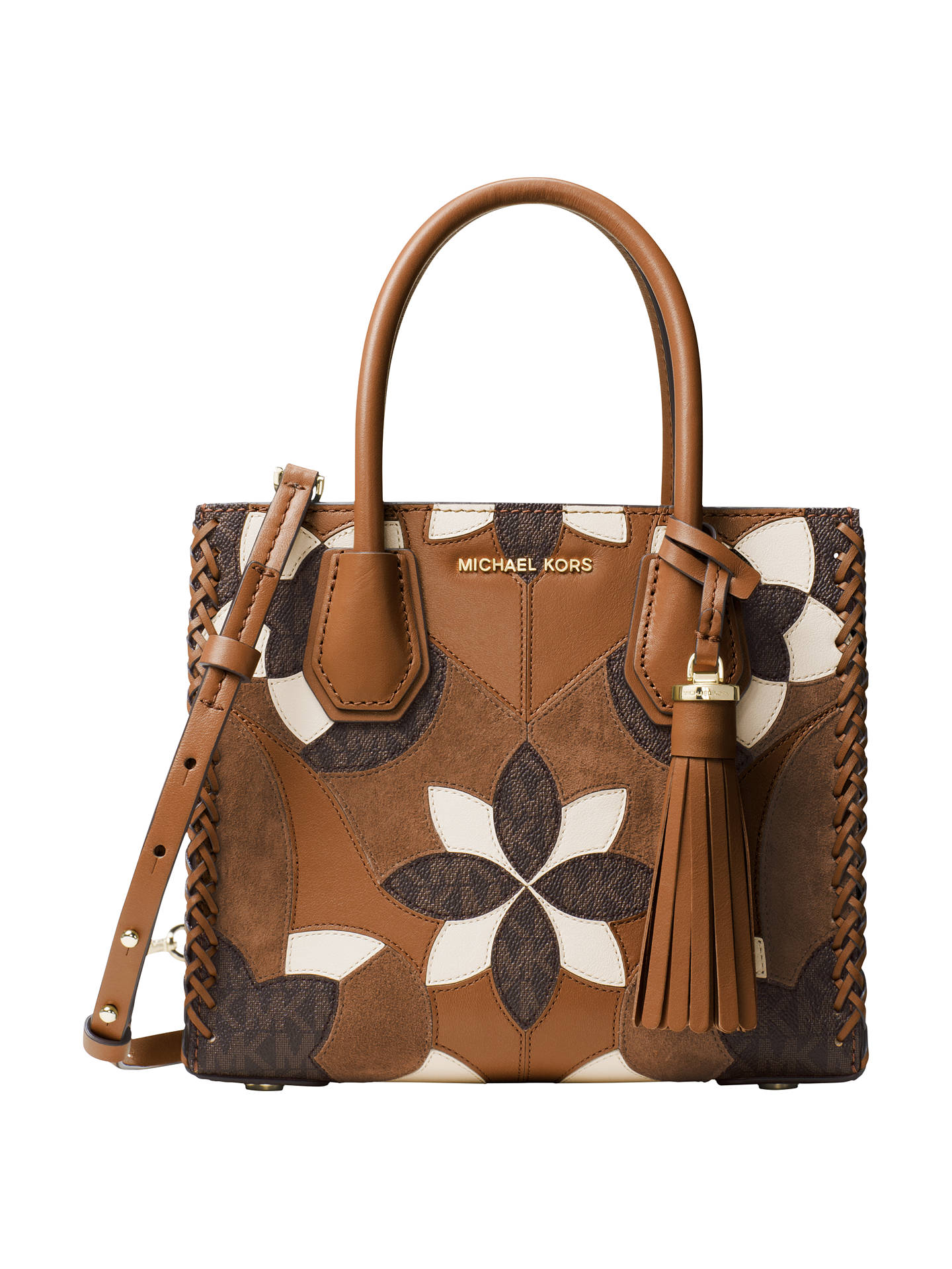 BuyMICHAEL Michael Kors Mercer Leather Patchwork Tote Bag 8b607b996e126