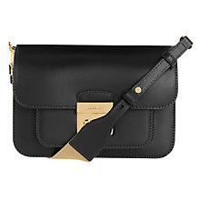 Buy MICHAEL Michael Kors Sloan Editor Medium Leather Shoulder Bag Online at johnlewis.com
