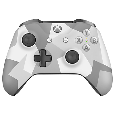 Image of Microsoft Xbox One S Wireless Controller, Winter Forces
