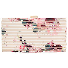 Buy Jacques Vert Petite Kyoto Clutch Bag, Pink Online at johnlewis.com