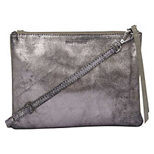 Buy Mint Velvet Lottie Leather Metallic Across Body Bag Online at johnlewis.com