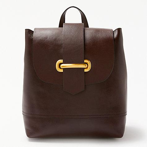 Buy John Lewis Aurora Leather Backpack | John Lewis