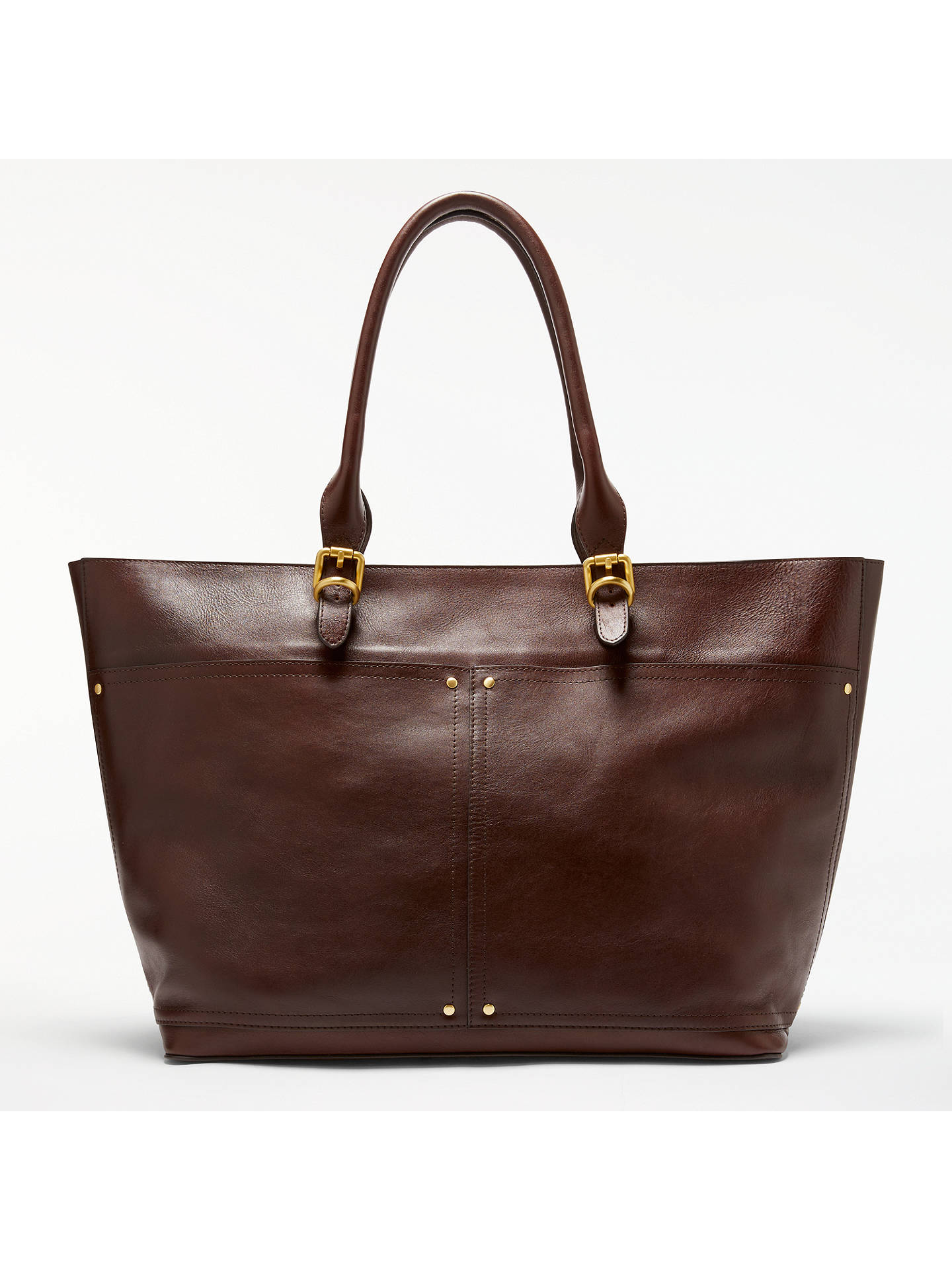 Buy John Lewis   Partners Aurora Large Leather Tote Bag f0913890a5b80