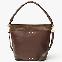 Buy John Lewis Aurora Leather Small Shoulder Bag Online at johnlewis.com