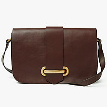 Buy John Lewis Aurora Leather Small Satchel Online at johnlewis.com