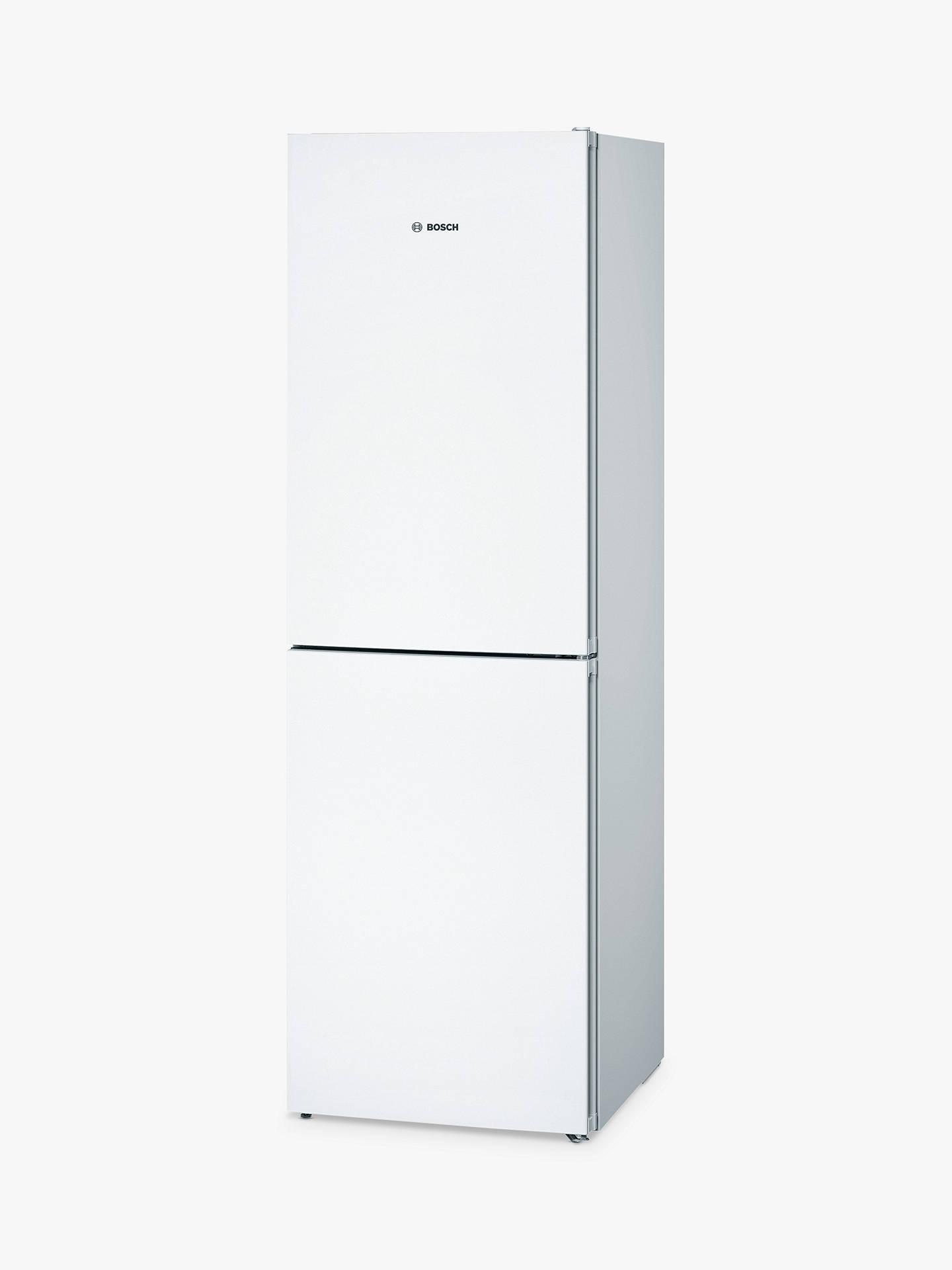 Bosch KGN34VW35G Freestanding Fridge Freezer, A++ Energy Rating, 60cm Wide,  White