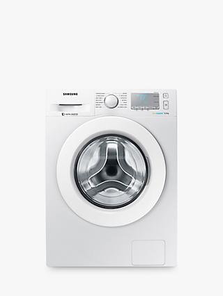 Samsung WW90J5456MA ecobubble™  Freestanding Washing Machine, 9kg Load, A+++ Energy Rating, 1400rpm Spin, White