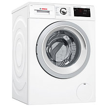 Buy Bosch WAT28661GB Freestanding Washing Machine, 8kg Load, A+++ Energy Rating, 1400rpm Spin, White Online at johnlewis.com