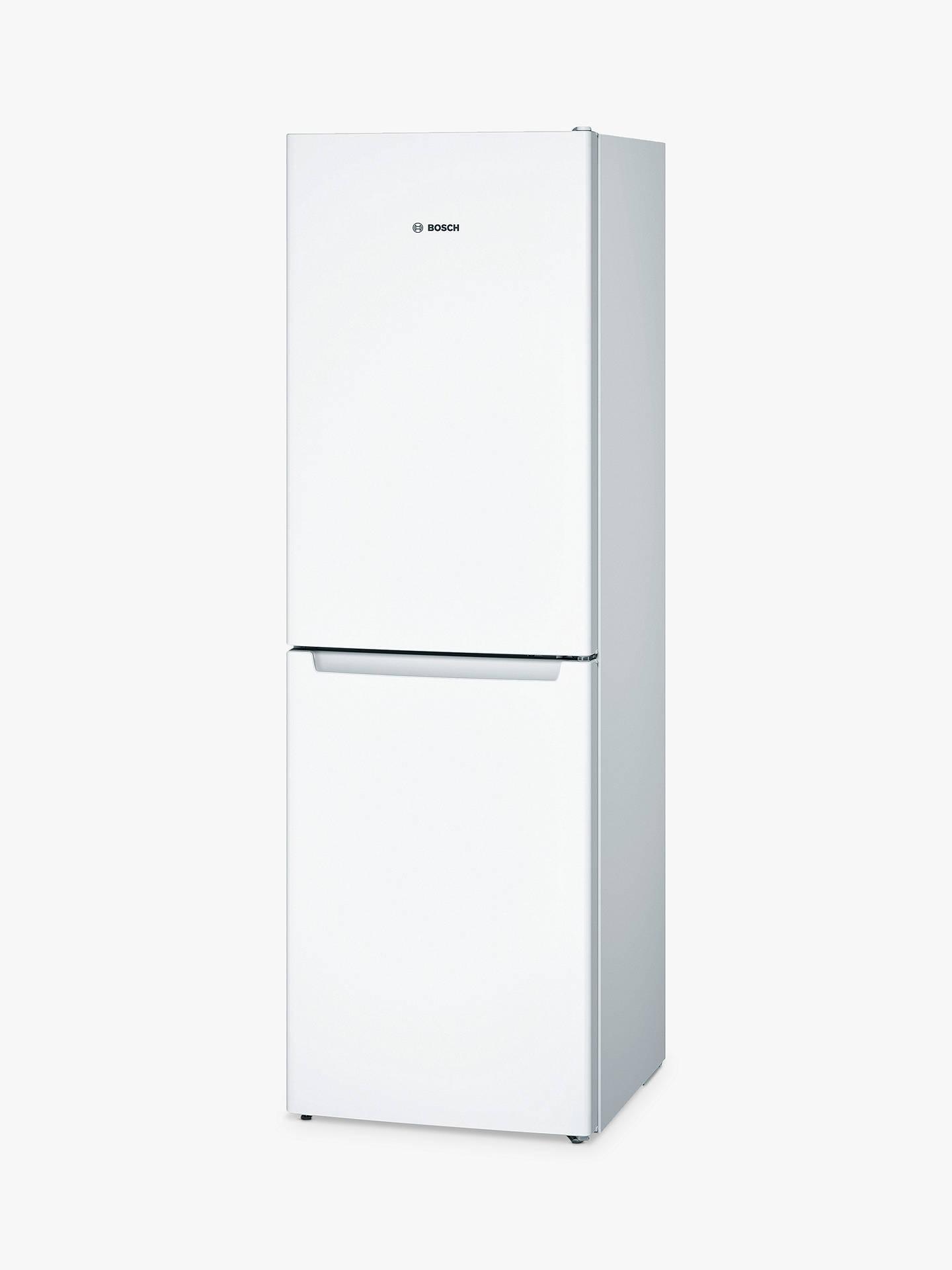 bosch kgn34nw3ag freestanding fridge freezer a energy rating rh johnlewis com Bosch Refrigerator Problems Bosch Counter-Depth Refrigerator