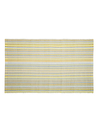 Buy John Lewis & Partners Spirit Stripe Bath Mat, Citrine Online at johnlewis.com