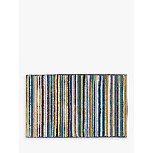 Buy John Lewis Scandi Stripe Bath Mat, Multi Online at johnlewis.com