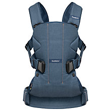 Buy BabyBjörn One Baby Carrier, Classic Denim Online at johnlewis.com