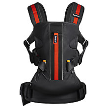 Buy BabyBjörn One Outdoor Baby Carrier, Black Online at johnlewis.com