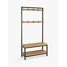 Buy John Lewis Calia Coat Stand, Small, Oak Online at johnlewis.com