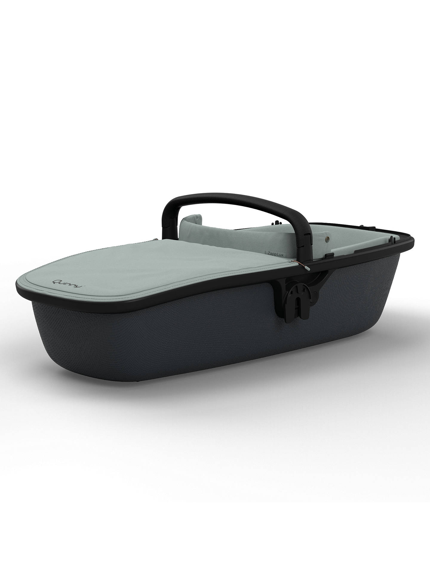 Buy Quinny Lux Carrycot, Grey/Graphite Online at johnlewis.com